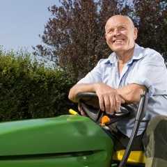 Vern Continues to Keep on Mowing